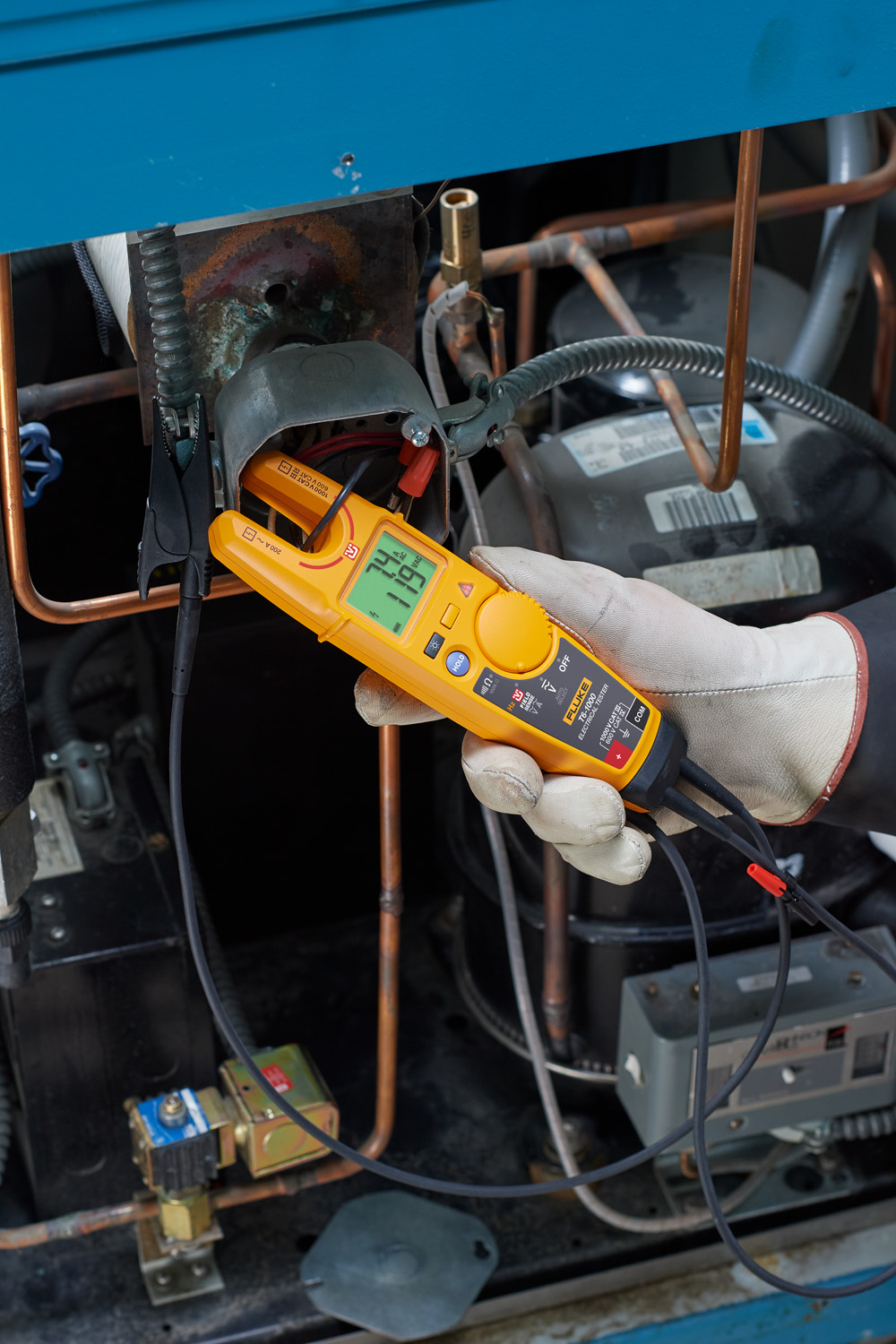 Fluke T6 Electircal tester Measure voltage…without test leads