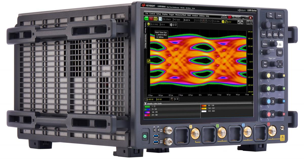UXR1104A Infiniium UXR-Series Oscilloscope: 110 GHz, 4 Channels